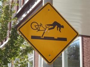 bike falling